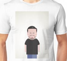 Ricky Gervais. Unisex T-Shirt