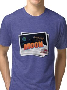 Greetings From The Moon Tri-blend T-Shirt