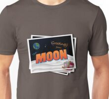 Greetings From The Moon Unisex T-Shirt