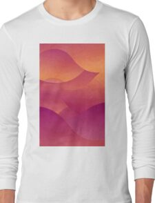 Sunset in Oia Long Sleeve T-Shirt