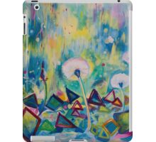 Dandelions Abstract Patterns iPad Case/Skin