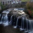 River at Hawes by Irene  Burdell
