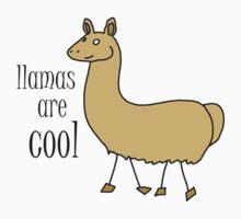 Geek Tee Me: Llamas Are Cool by GeekTeeMe