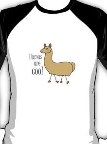 Geek Tee Me: Llamas Are Cool T-Shirt