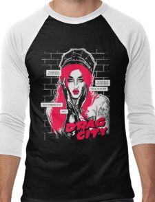 Drag City - Adore Delano Men's Baseball ¾ T-Shirt