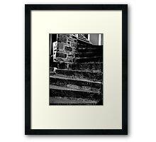 Thirteen Steps Framed Print