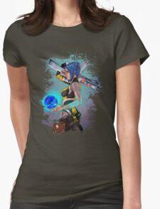 Borderlands 2 Maya the Siren Splatter Tee Womens Fitted T-Shirt