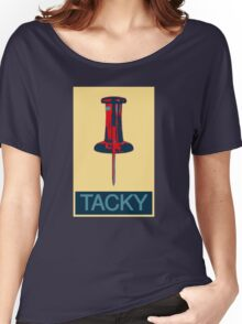 TACKY Women's Relaxed Fit T-Shirt