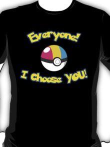 Parody: I Choose Everyone! (Pansexual) T-Shirt