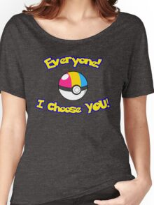 Parody: I Choose Everyone! (Pansexual) Women's Relaxed Fit T-Shirt