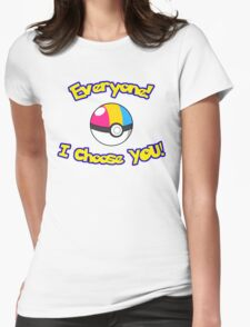 Parody: I Choose Everyone! (Pansexual) Womens Fitted T-Shirt