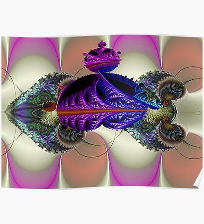 Mandelbrot Cuttlefish  (UF0048) Poster