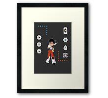 Portal Buddies Framed Print