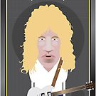 This Is Spinal Tap. David St. Hubbins. by Mrdoodleillust