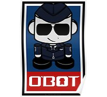 Aim High Air Force Hero'bot 1.1 Poster
