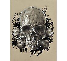 Death's Head Photographic Print