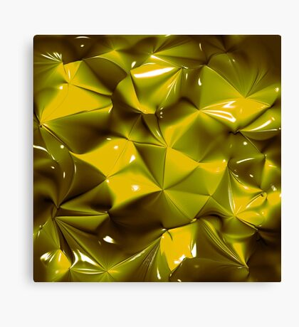 PINCH & FOLD GOLD Canvas Print