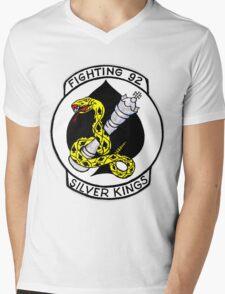 VF-92 Silver Kings Mens V-Neck T-Shirt