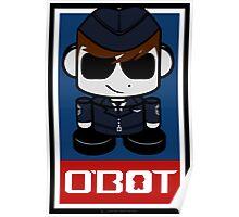 Aim High Air Force Hero'bot 2.1 Poster