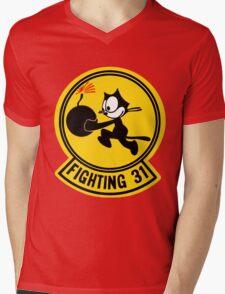 Fighting 31 - Tomcatters Mens V-Neck T-Shirt