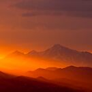 Rain Of Color On Longs Peak by nikongreg