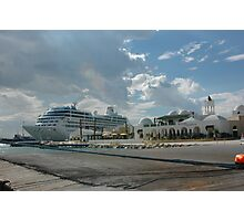 Reserved Parking-Cruise Ships Only-Tunis Africa Photographic Print
