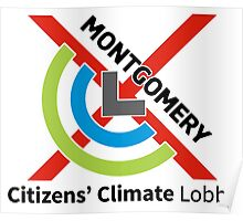 Montgomery Citizens Climate Lobby (diagonal) Poster