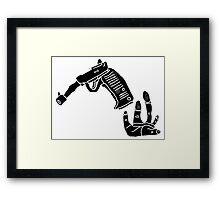 TREMOR OF INTENT 2 Framed Print