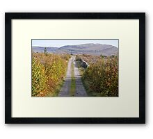 Mullaghmore in Autumn Framed Print