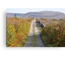 Mullaghmore in Autumn Canvas Print