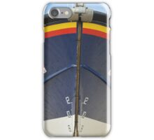 Bow Of RNLI Moira Barrie iPhone Case/Skin