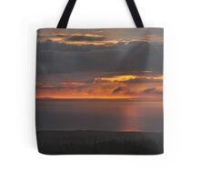 Sunset on Ireland's Atlantic coast - I Tote Bag