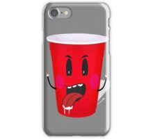 Cups Playing Beer Pong iPhone Case/Skin
