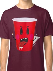 Cups Playing Beer Pong Classic T-Shirt