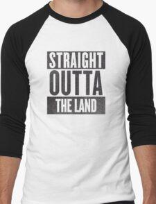 Straight Outta The Land Men's Baseball ¾ T-Shirt