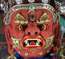 Ceremonial Mask, Mongolia by Keith Molloy