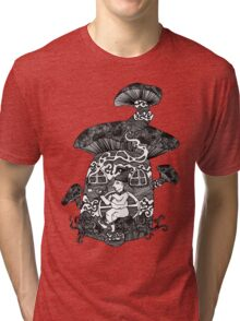 The Smoking Gnome Tri-blend T-Shirt