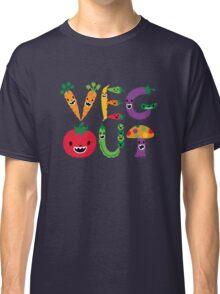Veg Out - navy Classic T-Shirt