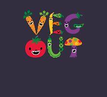 Veg Out - navy Unisex T-Shirt