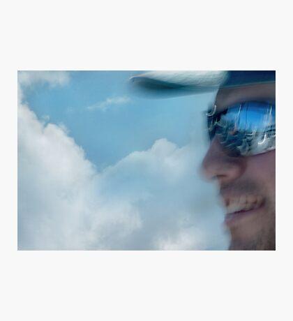 Blueboy in Wonderland Photographic Print