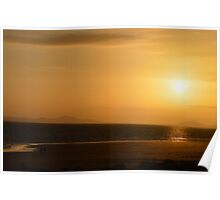 The Sunset Hue Poster