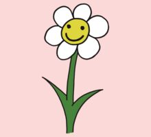 Happy smiling cartoon flower by ReadiesCards