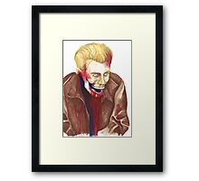 The Good Die Young Framed Print