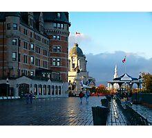 Boardwalk in Quebec Photographic Print