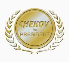 Chekov for President by ImagineThatNYC