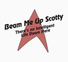 Beam me Up Scotty Kids Clothes