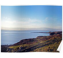 Back bay from Cairndoon Scotland Poster