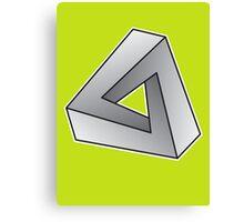 Mobius Triangle (Angular) Canvas Print