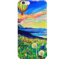 Hot Air Balloon  iPhone Case/Skin