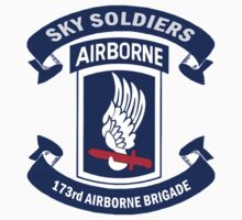 Insignia of the 173rd Special Forces Airborne Brigade! One Piece - Short Sleeve